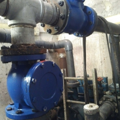 New Check Valves Installed on Sump Pumps