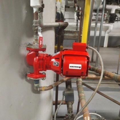 New Hot Water Recirc Pump