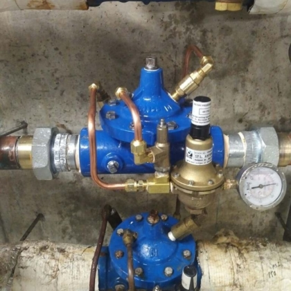 New Pressure Reduce Valves
