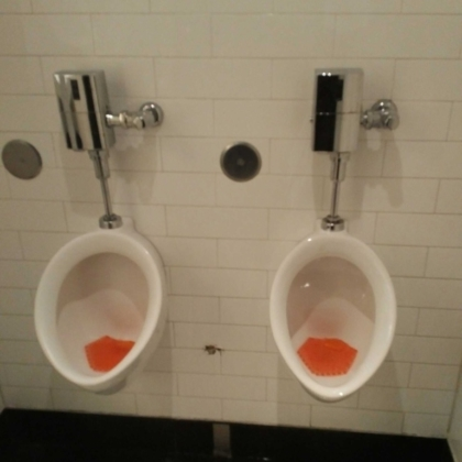 New Urinals