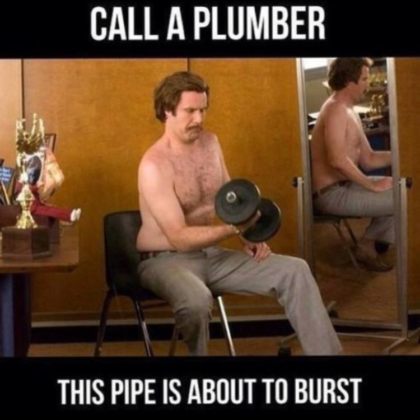call a plumber - funny