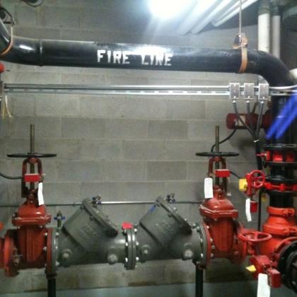 new fire back flow preventer
