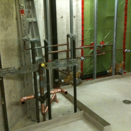 new washroom install - 5